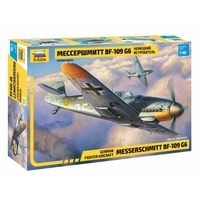 Zvezda 4816 1/48 Messerschmitt Bf-109 G6 Plastic Model Kit