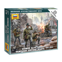 Zvezda 6180 1/72 German Elite Troops 1939-43 Plastic Model Kit