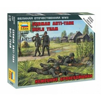 Zvezda 6216 1/72 German Anti Tank Rifle Team Plastic Model Kit
