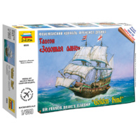 Zvezda 6509 1/350 Golden Hind Plastic Model Kit