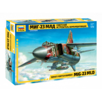 Zvezda 7218 1/72 MIG-23 MLD Soviet Fighter Plastic Model Kit