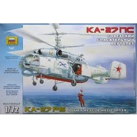 Zvezda 1/72 KA-27 Rescue Helicopter (RR) Plastic Model Kit 7247