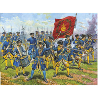 Zvezda 1/72 Swedish Infantry (re-release) Plastic Model Kit 8048