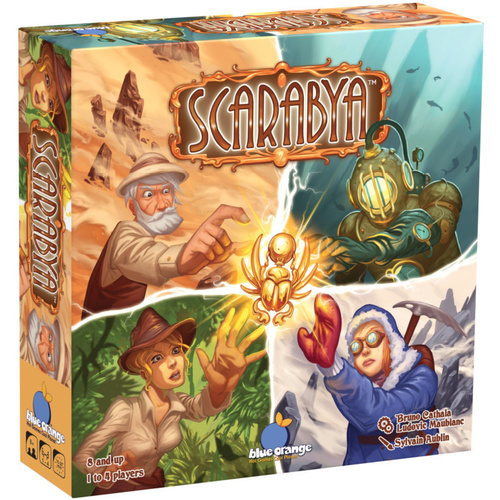 Scarabya Strategy Game