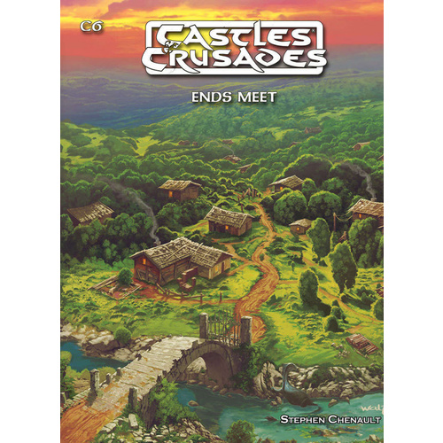 Castles & Crusades Adventure Book C5 Fifth Edition - Ends Meet