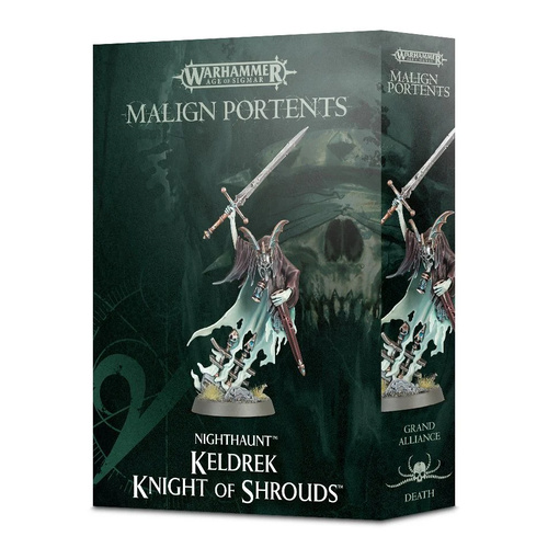 Warhammer: Age of Sigmar Nighthaunt Keldrek: Knight of Shrouds