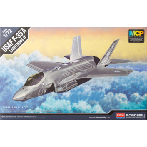 Academy 1/72 USAF F35A Lightning II Australian Decals 12507 Plastic Model Kit