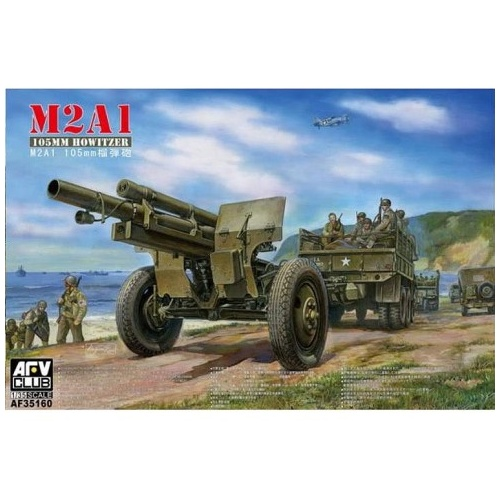 AFV 1/35 105mm HOWITZER M2A1 Carriage M2(WW II Version)