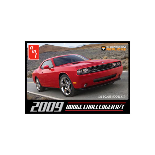 AMT 1/25 2009 Dodge Challenger R/T Plastic Model Kit AMT1117M