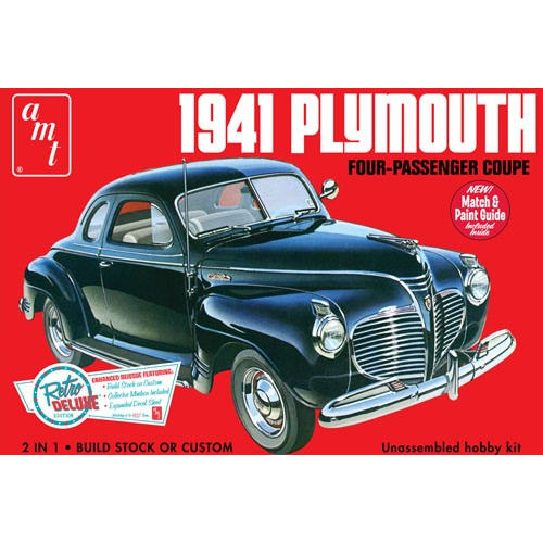 AMT 1/25 1941 Plymouth Coupe