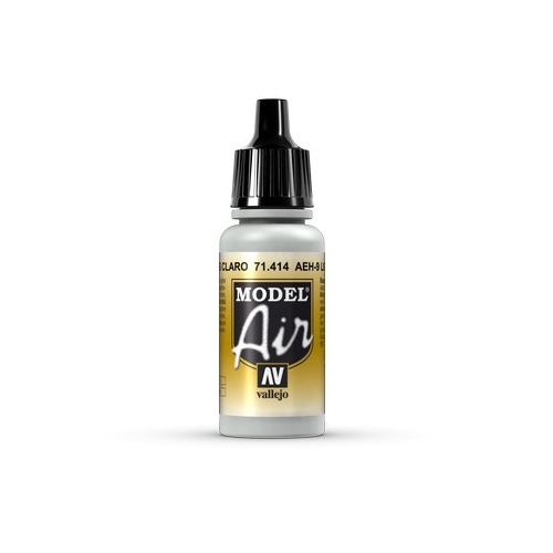 Vallejo 71414 Model Air AEH-9 Light Grey 17ml Acrylic Paint