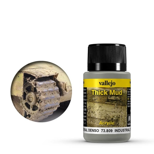 Vallejo Weathering Effects Industrial Thick Mud 40 ml