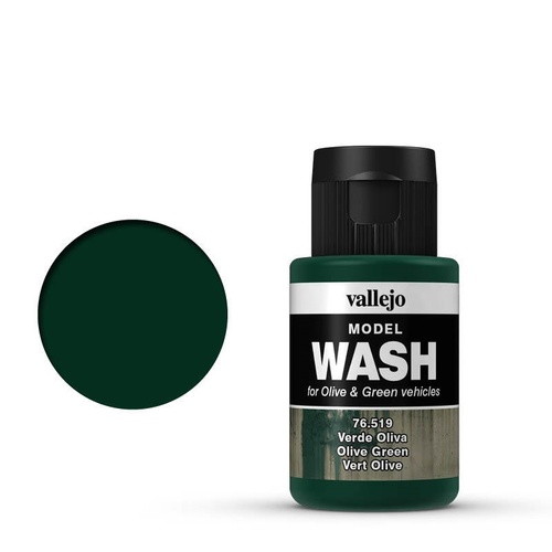 Vallejo Model Wash Olive Green 35 ml Acrylic Paint