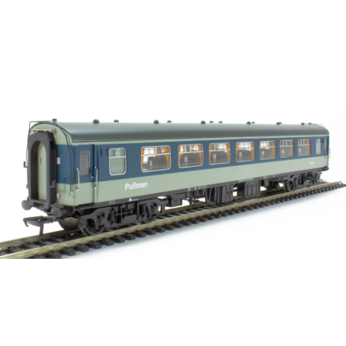 Bachmann OO BR BR Mk1 SP Pull Man Secont Parlour Grey & Blue BAC-39311A