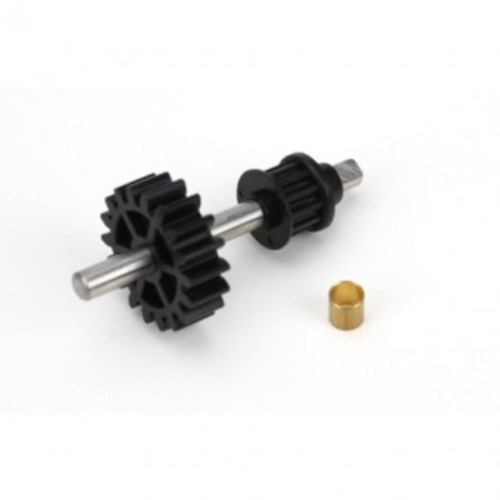 Blade Tail Drive Gear/Pulley Assembly: B450, BLH1655