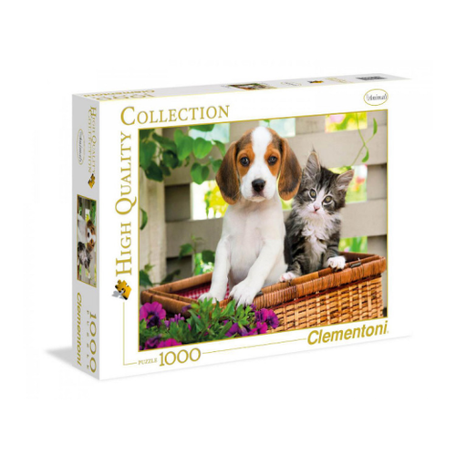 Clementoni 1000pc The Dog and The Cat CLE 39270