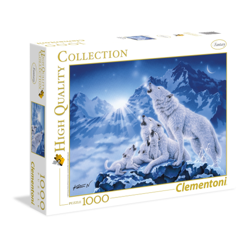 Clementoni 1000pc Family of Wolves CLE 39280