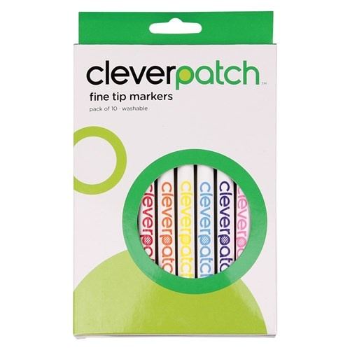 CleverPatch Fine Tip Washable Markers