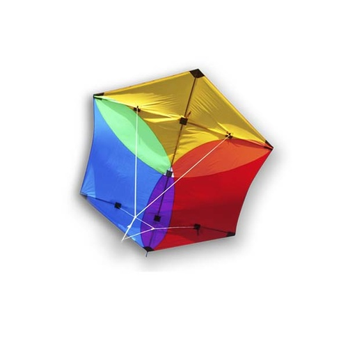 Didakites Rokkaku Rainbow Kite (small)