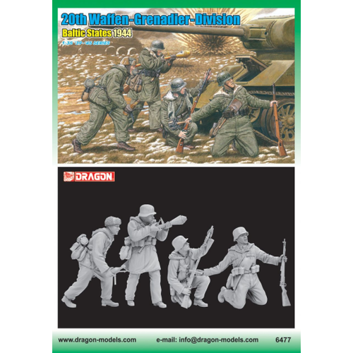 Dragon 1/35 20th Waffen Grenadier Division DR 6477