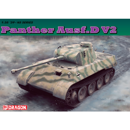 Dragon 1/35 Panther Ausf.D V2 Versuchsserie