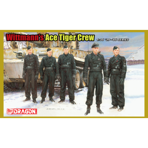 Dragon 1/35 Wittmans Ace Tiger Crew (5 Figure set)