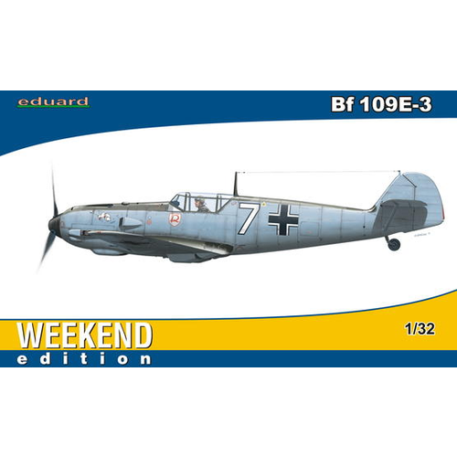 Eduard 1/32 Bf 109E-3 Plastic Model Kit 3402