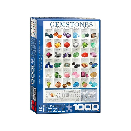 Eurographics 1000pc Gemstones