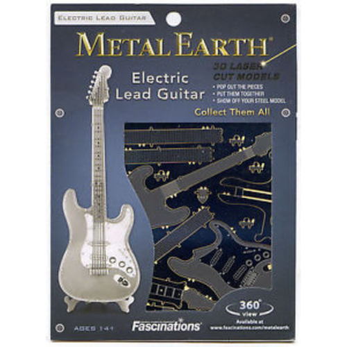 Metal Earth Electric Lead Guitar Puzzle Kit