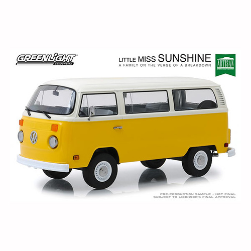 Greenlight 1/18 Little Miss Sunshine (2006) 1978 VW Type 2 (T2B) Bus Movie Artisan Collectio 19051 Diecast