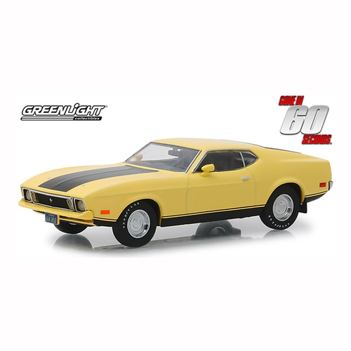 Greenlight 1/43 Eleanor '71 Mach 1 Mustang Gone in Sixty Seconds(1974) Mustang Movie 86412 Diecast