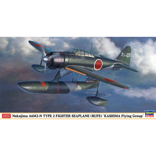 Hasegawa 1/48 A6M2-N Type 2 Fighter Seaplane (RUF 07469 Plastic Model Kit