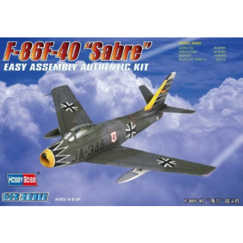 Hobby Boss 1/72 F-86F-40 Sabre 80259 Plastic Model Kit