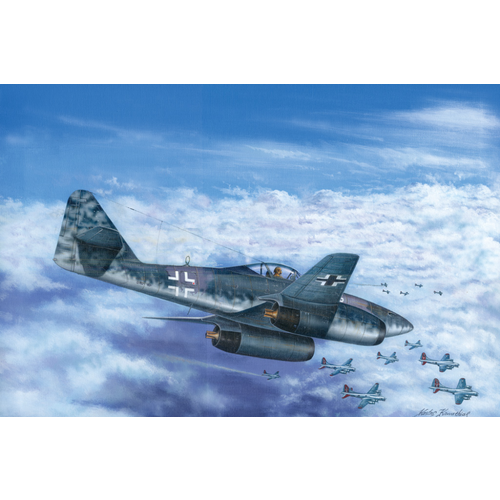 Hobby Boss 1/48 Messerschmitt Me 262 A-1b 80375 Plastic Model Kit