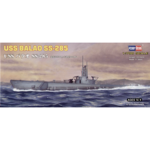 Hobby Boss 1/700 USS Balao SS-285 87011 Plastic Model Kit