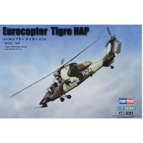 Hobby Boss 1/72 French Army Eurocopter EC 665 T 87210 Plastic Model Kit
