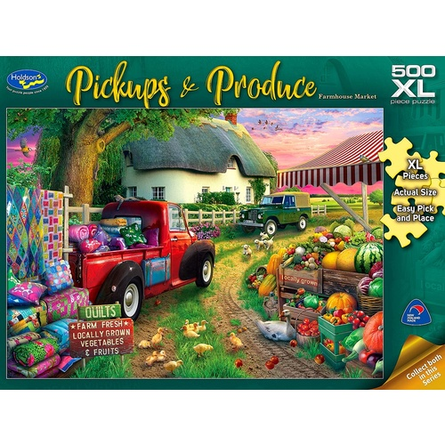Pickups & Produce 500pc XL FM