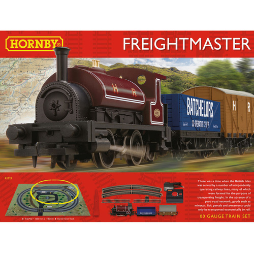 Hornby OO Freight Master Train Set