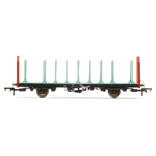 Hornby OO Ota Timber Wagon (Parallel Stanchions), Ews - Era 9