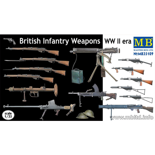 Master Box 1/35 British Infantry Weapons of WWII