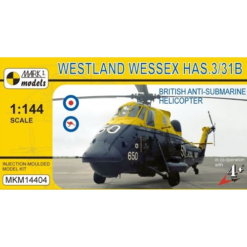 Mark I Models 1/144 Westland Wessex HAS.3/HAS.31B (Royal Navy, Royal Australian Navy) Plastic Model Kit