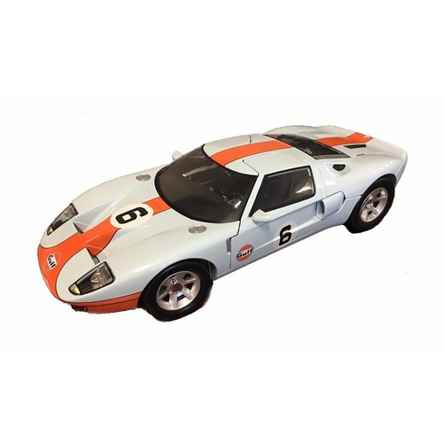 Motormax 1/12 Gulf Ford GT Concept 79639 Diecast