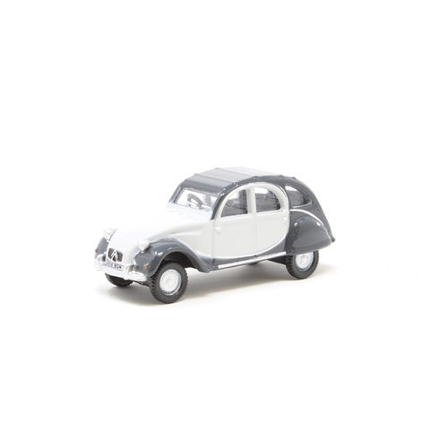 Oxford 1/76 Citroen 2CV Charleston Grey/Grey