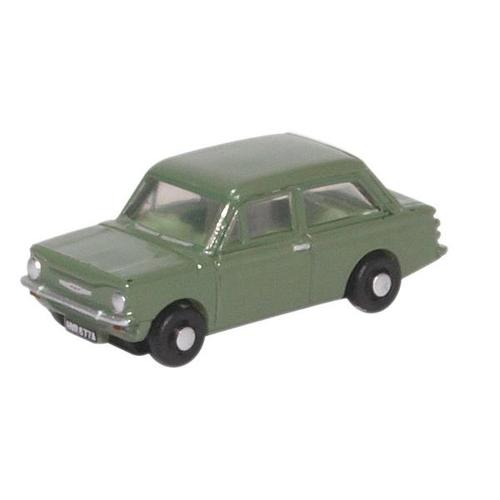 Oxford N Scale Hillman Imp Willow Green Diecast Model NHI001
