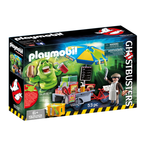 Playmobil - Slimer with Hot Dog Stand 9222