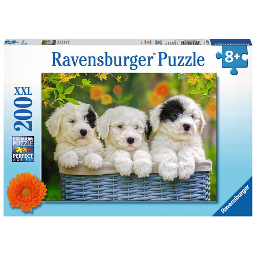 Ravensburger - 200pc Cuddly Puppies Jigsaw Puzzle 12765-8