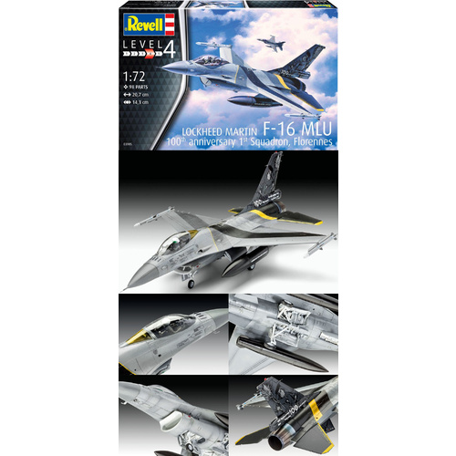 Revell 1/72 F-16 MLU 100th Anniversary - 03905 Plastic Model Kit