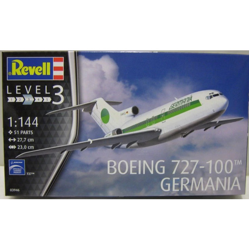 Revell 1/144 Boeing 727-100 Germania - 03946 Plastic Model Kit