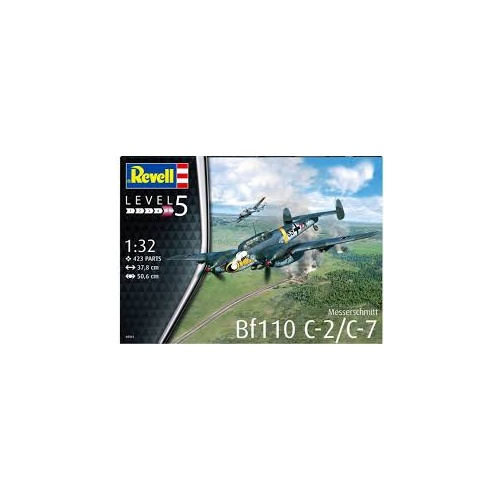 Revell 1/32 Messerschmitt BF110 C-7 - 04961 Plastic Model Kit