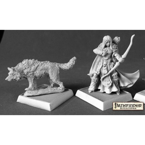 Reaper Miniatures - Pathfinder Miniatures: Adowyn, Iconic Hunter
